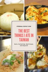 Eternal Expat - The Best Things I Ate in Taiwan pinterest graphic [kateslean.com]