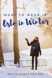 Petite Adventures - What to Wear in Oslo in Winter [kateslean.com]